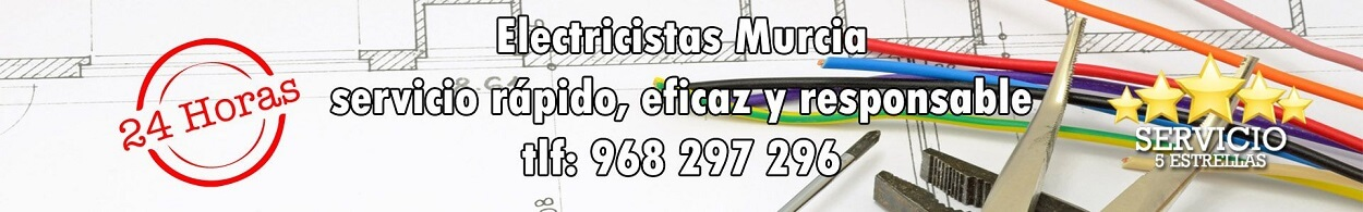 electricistas murcia urgentes baratos tlf 968 297 296